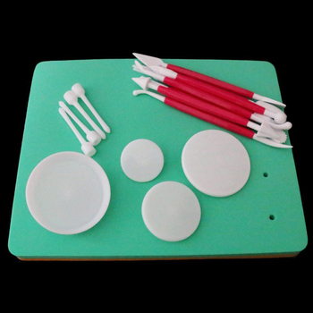 Fondant Cake Foam Pad Sponge Gum Paste Decorating Sugarcraft Flower Modelling Tool